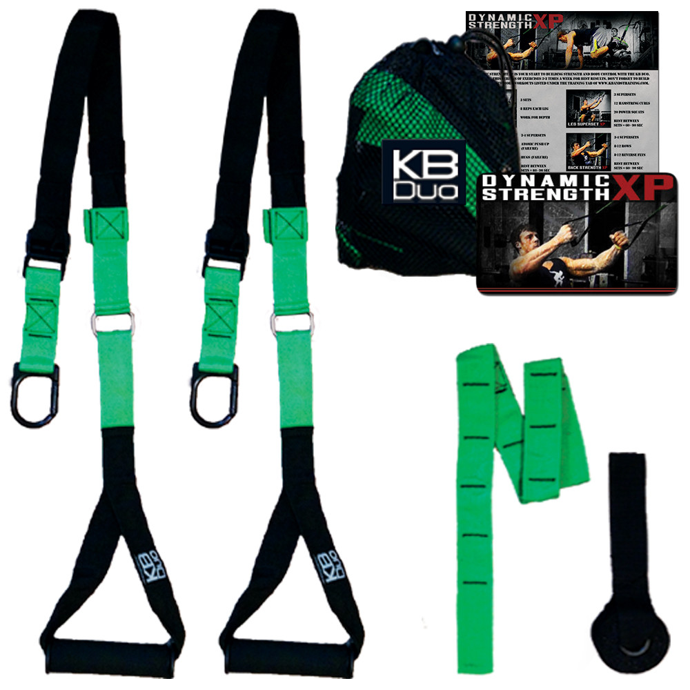 KB-Duo (Home Strength Training Straps)