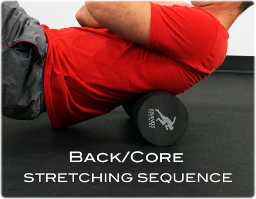 Back and Core Stretching Sequence