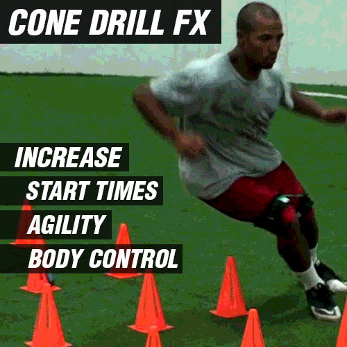 Includes Cone Drill FX