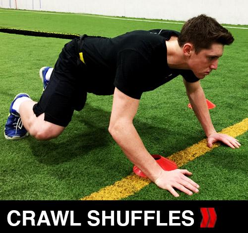 Bear Crawl Shuffles