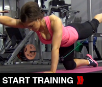 Hamstring Exercise Set for the Legs and Glutes