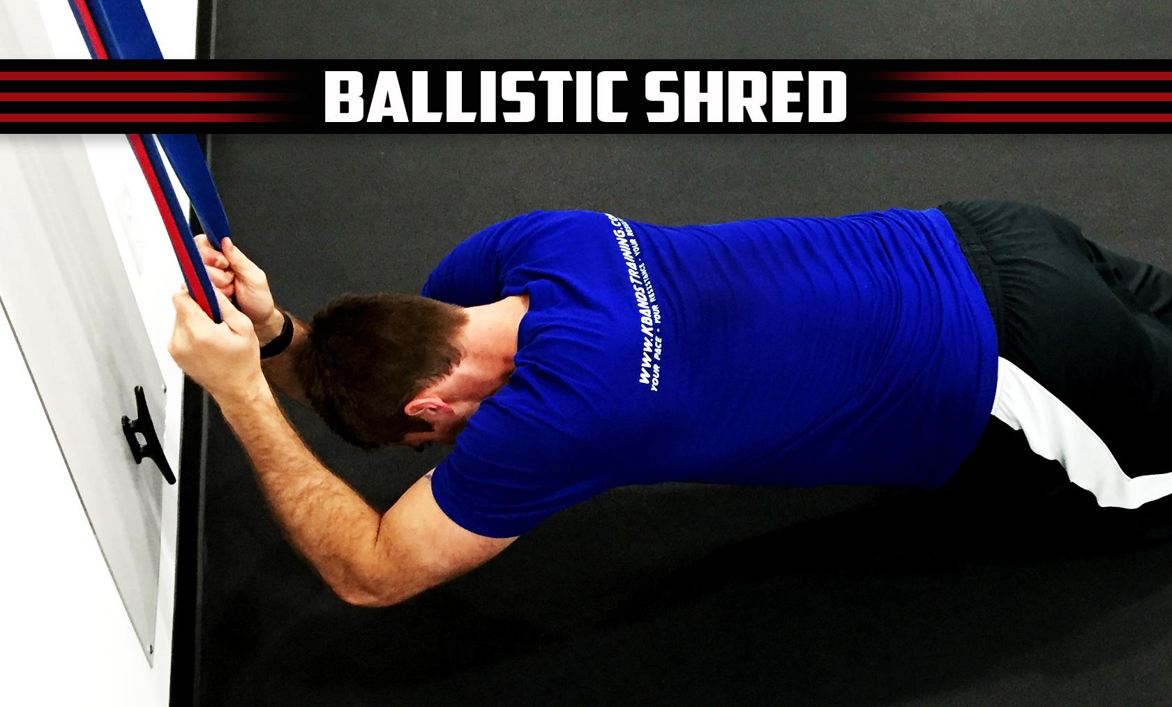 Ballistic Shred Digital Trainer
