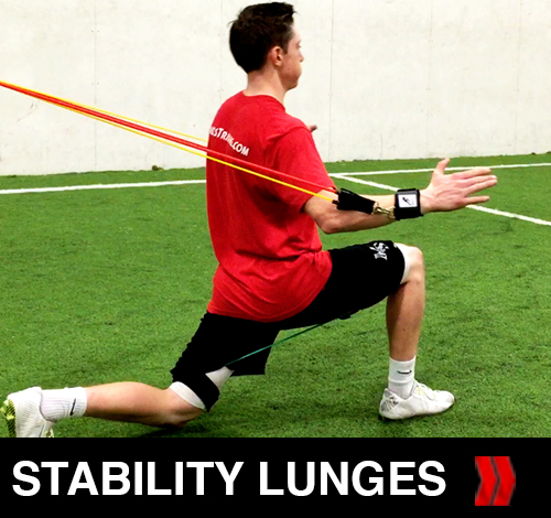 Stability Lunges