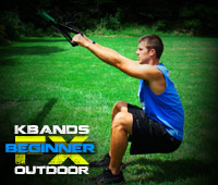 Outdoor FX Beginner KB Duo Squats Plus Power Squats