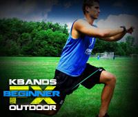 Outdoor FX Beginner Kbands Lunges