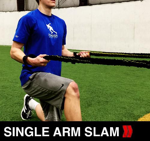 Power Single Arm Slam
