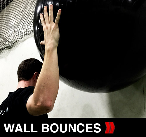 Shoulder Wall Bounces