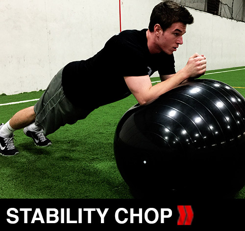 Stability Ball Chops