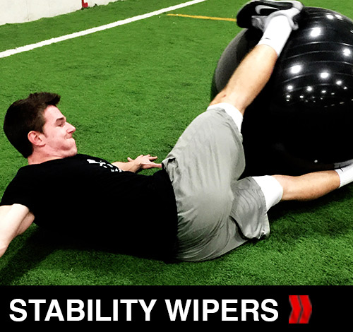 Stability Ball Wipers